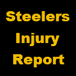 Steelers Bengals Week 10 Practice Injury Report