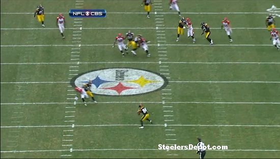 Antonio Brown punt return touchdown Bengals week 13 #4