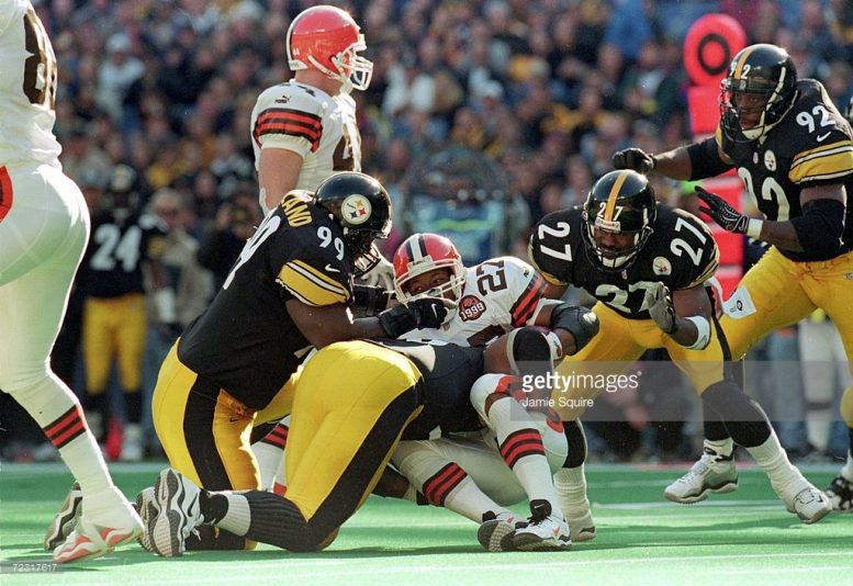 Travis Davis Steelers 1999